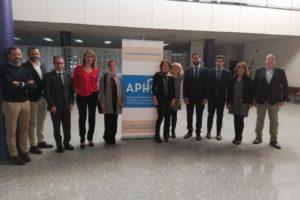 APHA recibe la visita de la presidenta de la Comisión de Turismo de la Cámara de Comercio de Alicante, Gema Amor