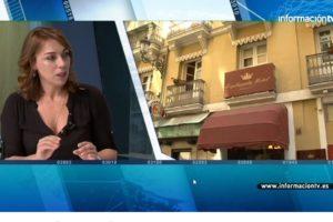 Entrevista a Victoria Puche en InformacionTV